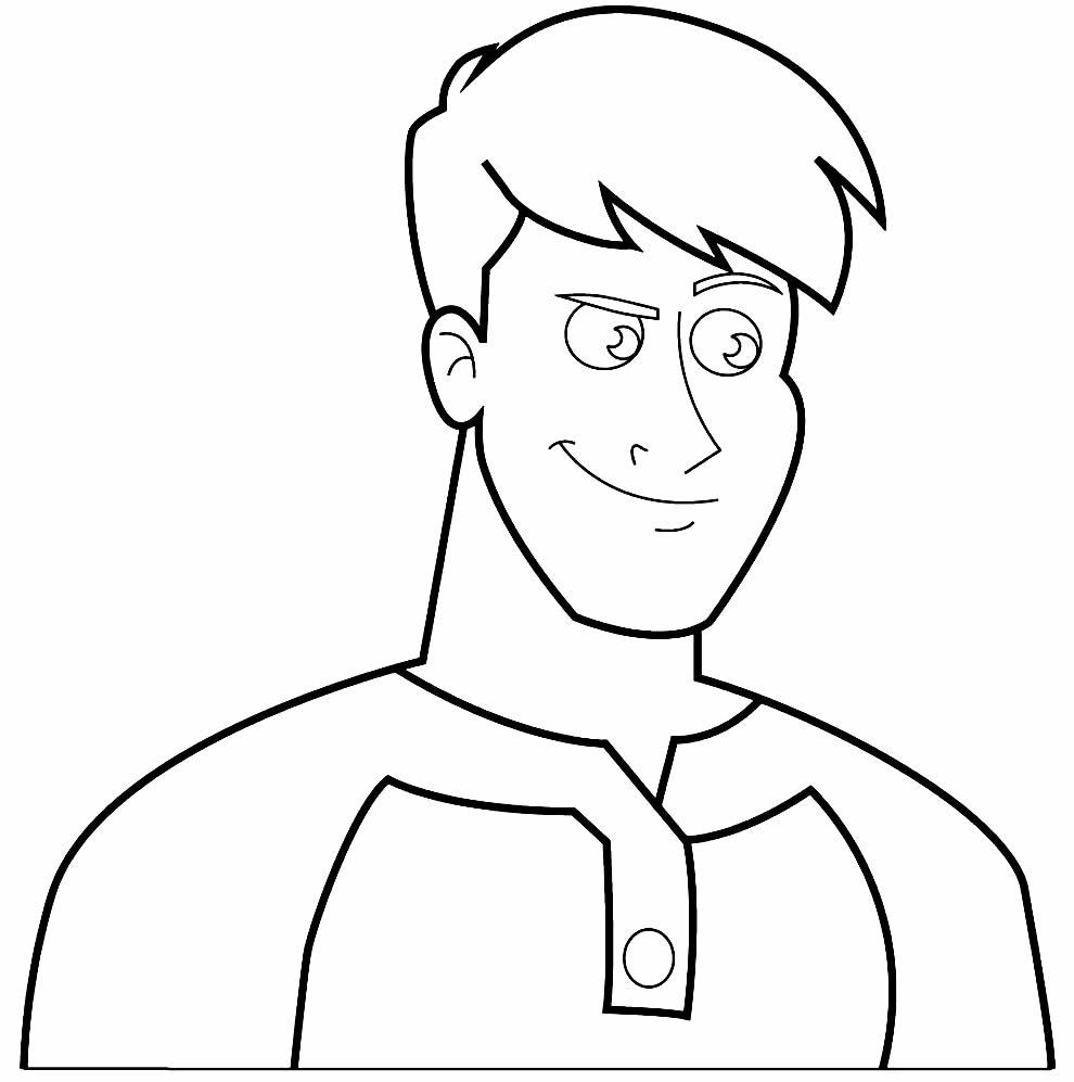 Desenho para pintar do Henry Danger