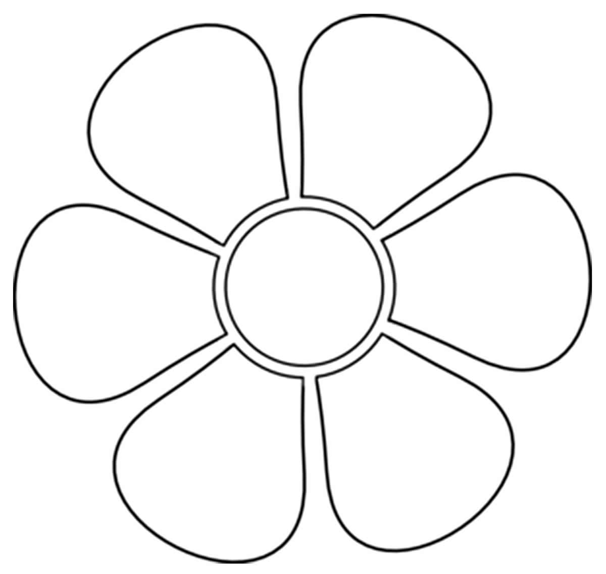 Molde de pétala de flor