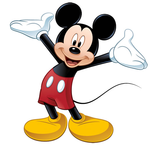 Desenho do Mickey