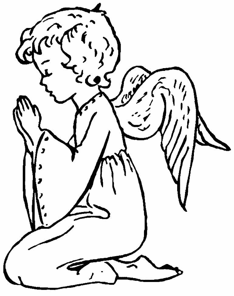 Desenho de anjinho