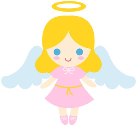 Desenho de anjinha