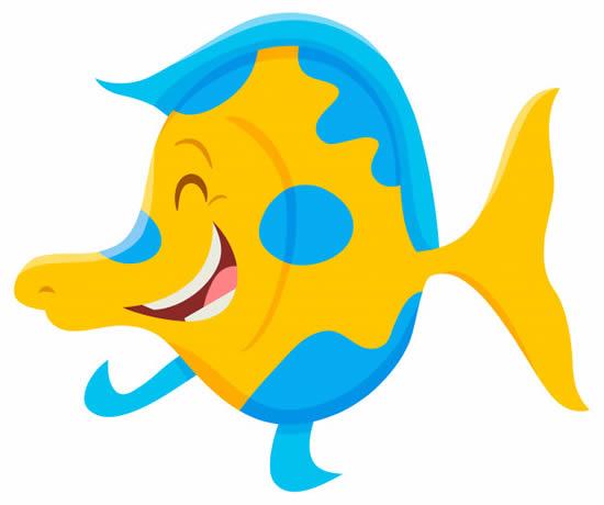 Molde divertido de Peixe