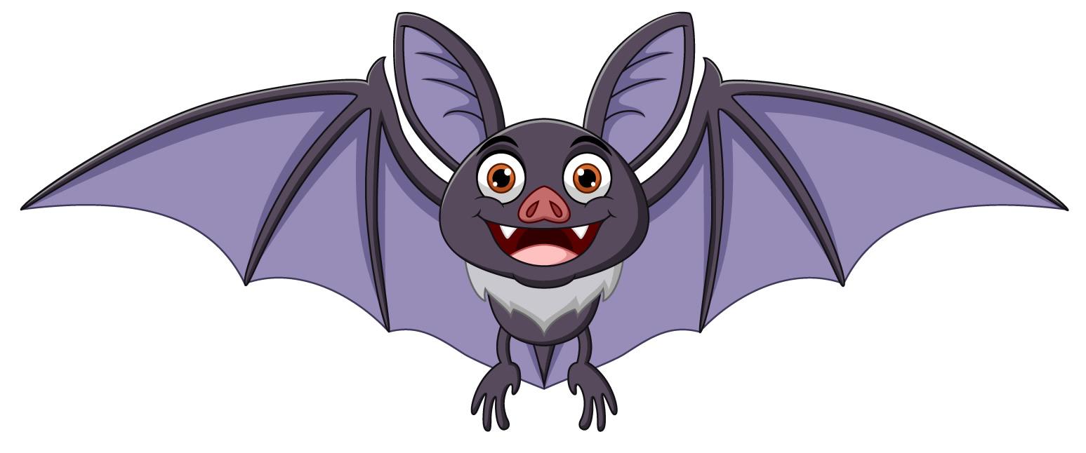 Desenho de Morcego