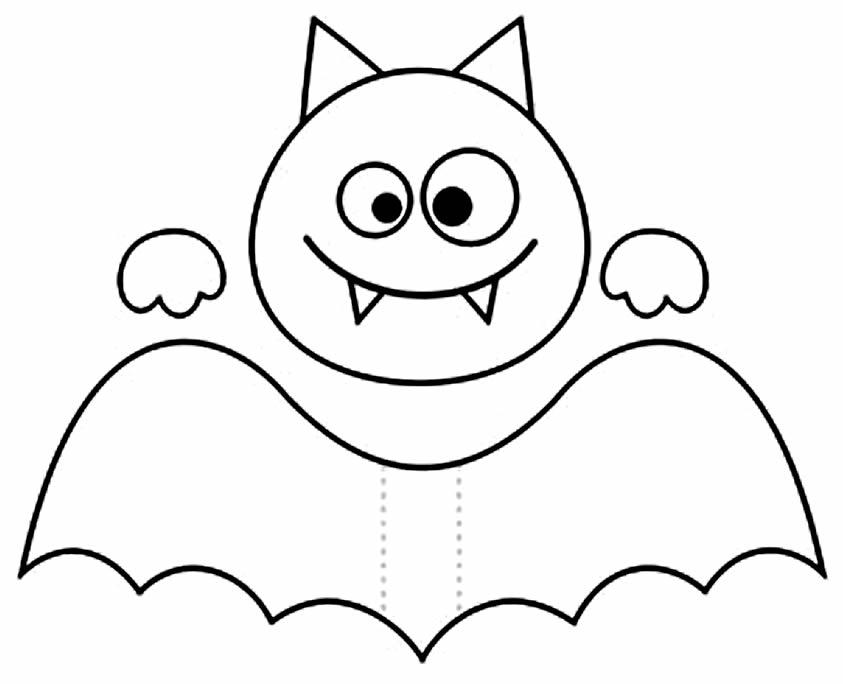 Moldes de Morcego para imprimir