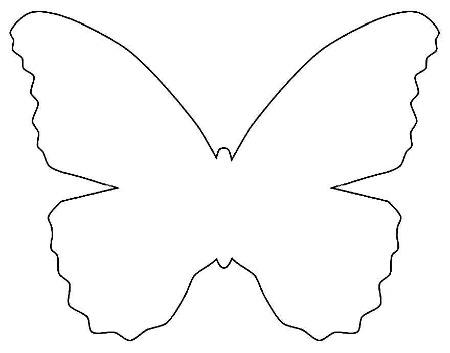 Moldes de borboleta para imprimir