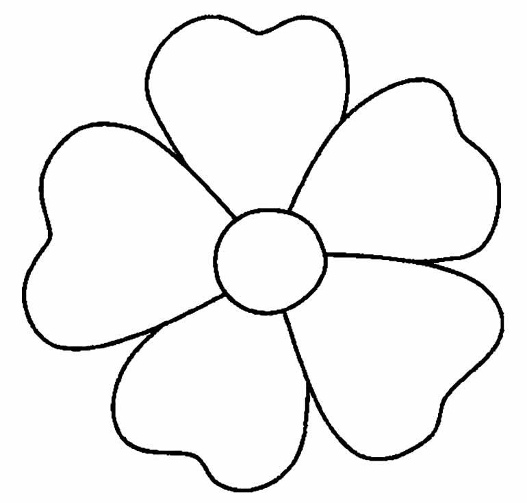 Lindo molde de flor de EVA