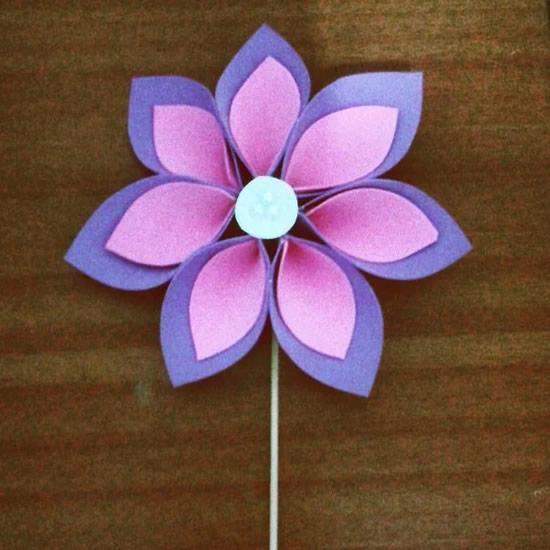 Flor linda em EVA