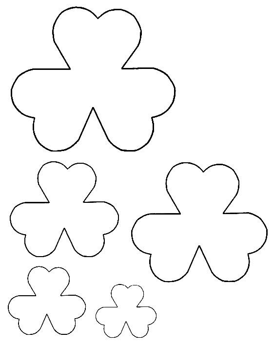 Modelos para flores em EVA