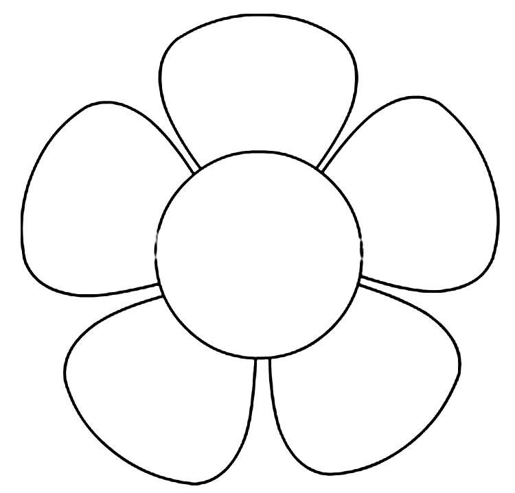 Molde para fazer flor em EVA