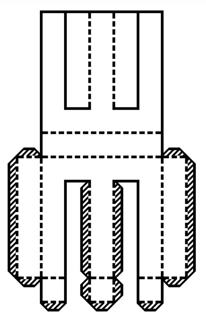Molde de Letra em 3D