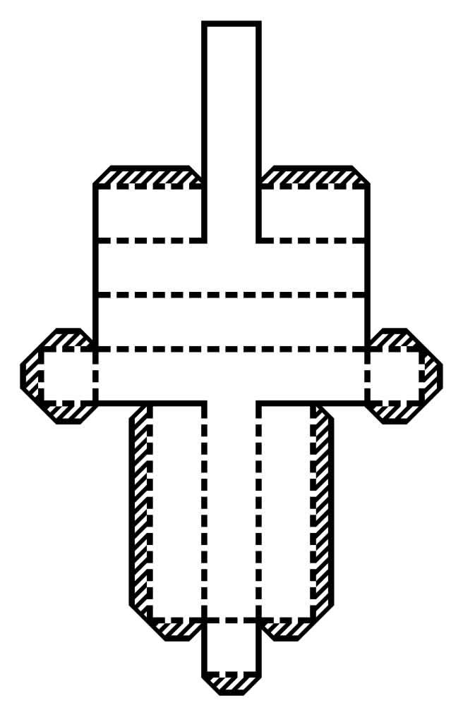 Molde do alfabeto em papel