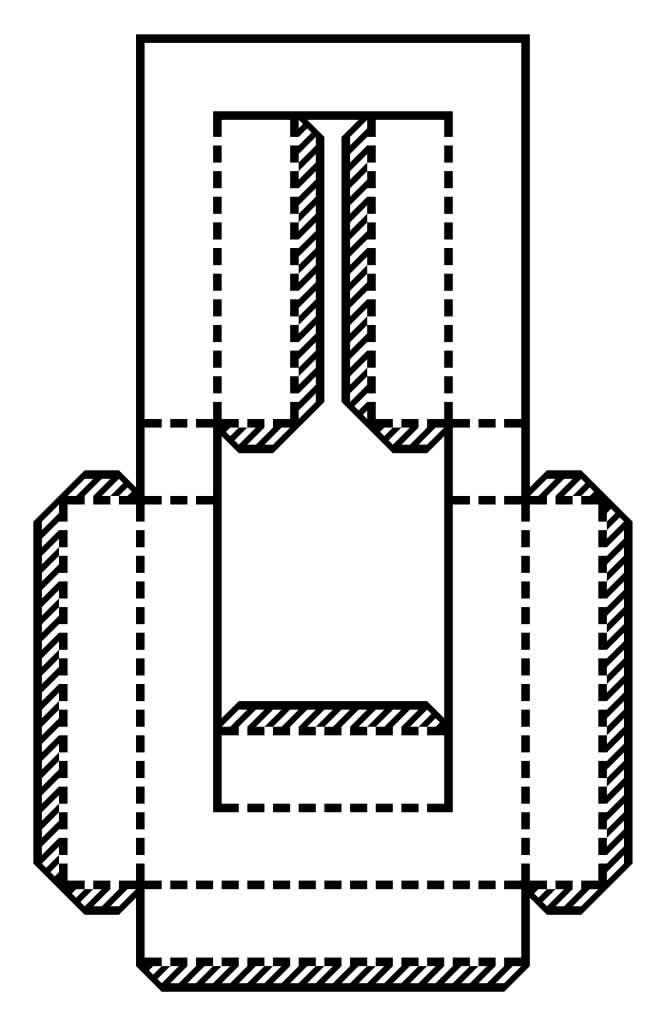 Molde do alfabeto em 3D