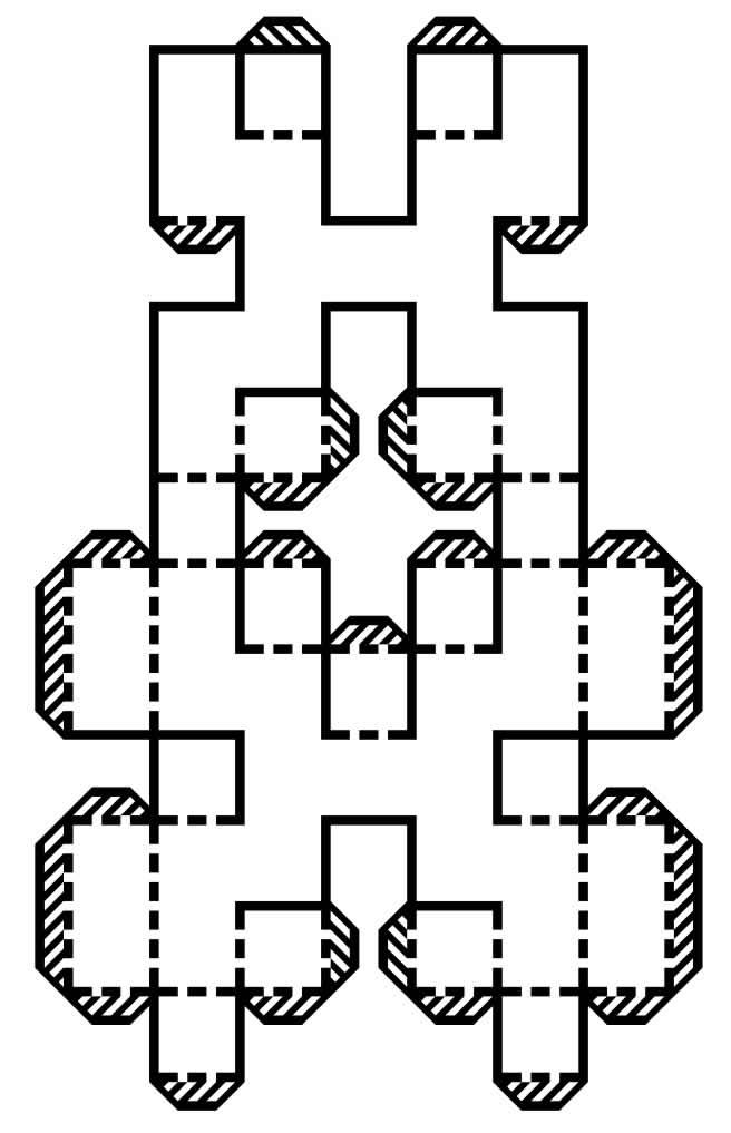 Molde de letras em 3D
