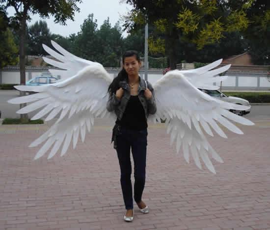 Asa de anjo para fazer em casa