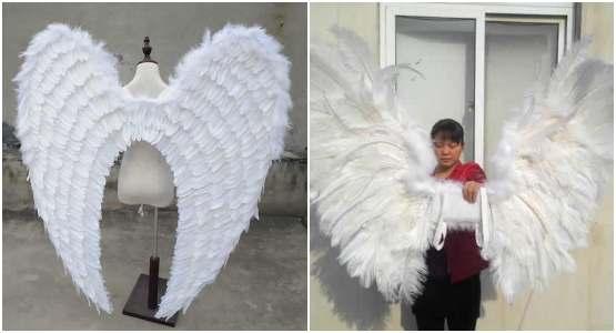 Moldes para fazer asas de anjo