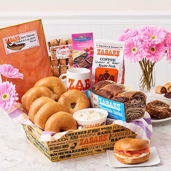 Cestinha de café da manhã para o Dia das Mães