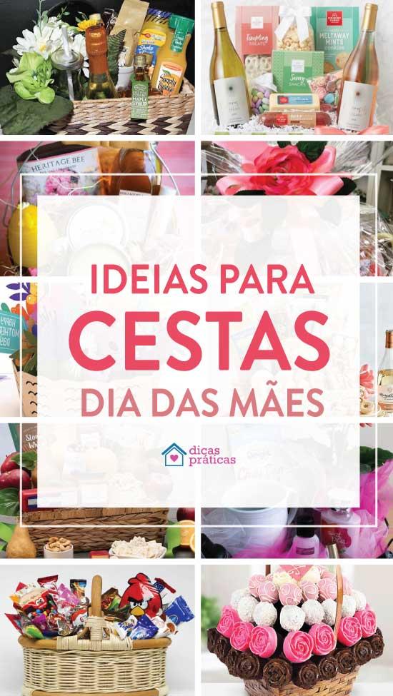 Cesta de Dia das Mães - Ideias e inspirações