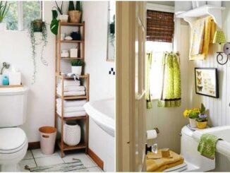 Decoração de banheiro pequeno: 20+ ideias